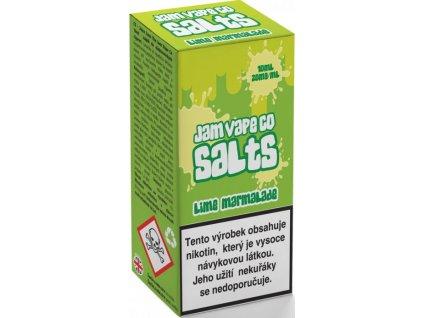 liquid juice sauz salt the jam vape co lime marmalade 10ml 20mg