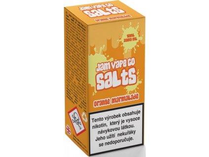 liquid juice sauz salt the jam vape co orange marmalade 10ml 20mg