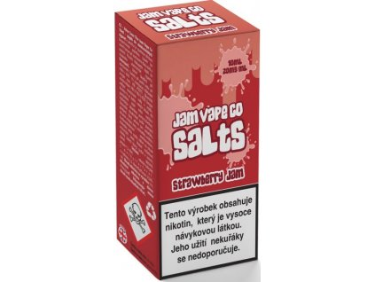 liquid juice sauz salt the jam vape co strawberry jam 10ml 20mg