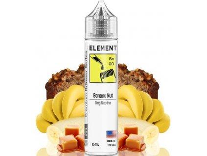 Příchuť Element Shake and Vape 15ml Banana Nut