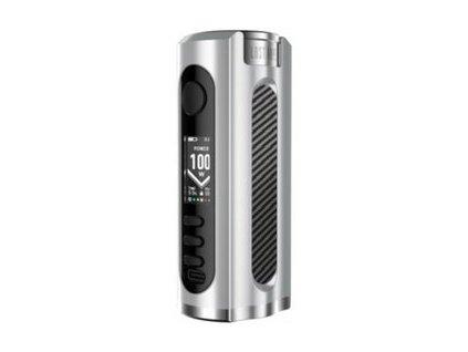 Lost Vape Grus 100W Grip Easy Kit Silver Carbon Fiber