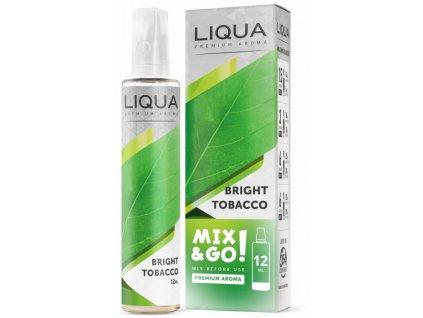 Příchuť Liqua Mix&Go 12ml Bright Tobacco