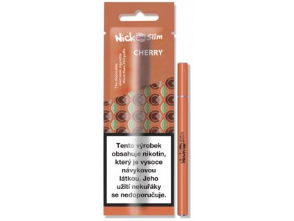 nick one slim elektronicka cigareta cherry 6mg