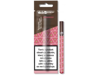 nick one original elektronicka cigareta strawberry 6mg