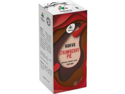 Liquid Dekang High VG Strawberry Pie 10ml (Jahodový koláč)