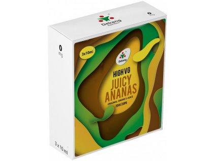 Liquid Dekang High VG 3Pack Juicy Ananas 3x10ml