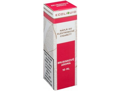 Liquid Ecoliquid Cranberry 10ml (Brusinka)
