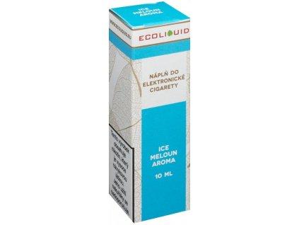 Liquid Ecoliquid ICE Melon 10ml (Svěží meloun)