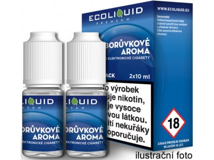 Liquid Ecoliquid Premium 2Pack Blueberry 2x10ml (Borůvka)