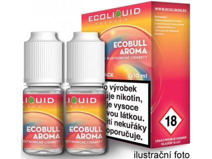 Liquid Ecoliquid Premium 2Pack Ecobull 2x10ml (Energetický nápoj)