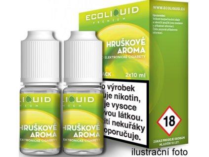 Liquid Ecoliquid Premium 2Pack Pear 2x10ml (Hruška)