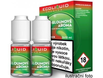 Liquid Ecoliquid Premium 2Pack Watermelon 2x10ml (Vodní meloun)