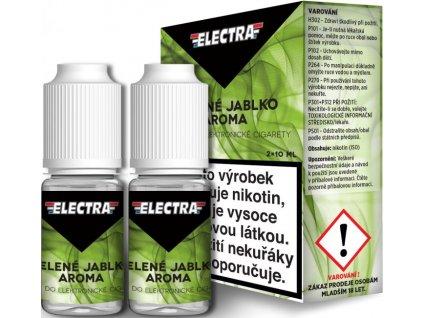 Liquid ELECTRA 2Pack Green apple 2x10ml (Zelené jablko)