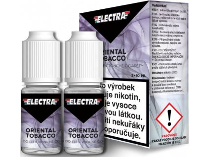 Liquid ELECTRA 2Pack Oriental Tobacco 2x10ml
