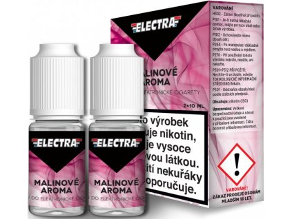 Liquid ELECTRA 2Pack Raspberry 2x10ml (Malina)
