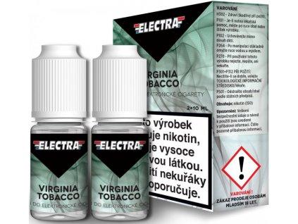 Liquid ELECTRA 2Pack Virginia Tobacco 2x10ml
