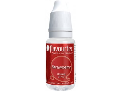 Příchuť Flavourtec Strawberry 10ml (Jahoda)
