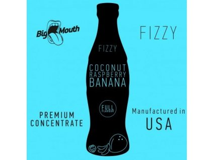 Big Mouth FIZZY - Coconut, Raspberry, Banana 10ml