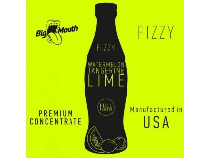 Big Mouth FIZZY - Watermelon, Tangerine, Lime 10ml