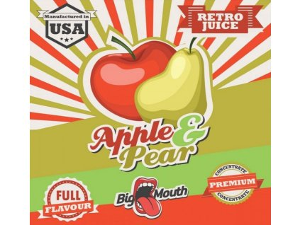 Big Mouth RETRO - Apple and Pear 10ml