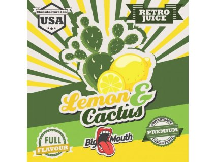 Big Mouth RETRO - Lemon and Cactus 10ml