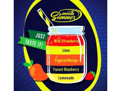 Big Mouth Smooth Summer - Mix Fruit 1 10ml