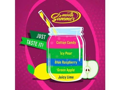 Big Mouth Smooth Summer - Mix Fruit 4 10ml