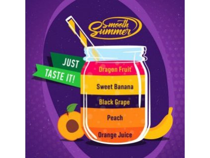 Big Mouth Smooth Summer - Mix Fruit 6 10ml