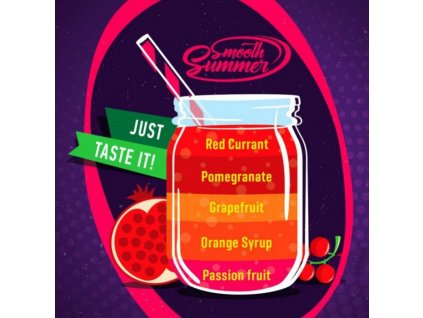 Big Mouth Smooth Summer - Mix Fruit 7 10ml