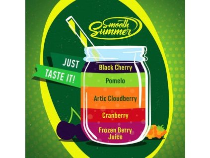 Big Mouth Smooth Summer - Mix Fruit 9 10ml