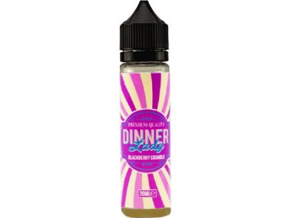 Příchuť Dinner Lady 20ml Blackberry Crumble