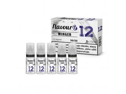 Flavourit - 50/50 12mg, 5x10ml