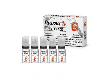 Flavourit - 50/50 6mg, 5x10ml