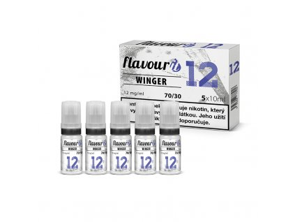 Flavourit - 70/30 12mg, 5x10ml