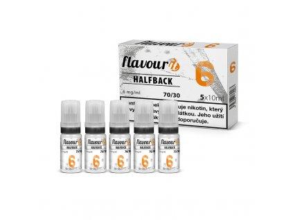 Flavourit - 70/30 6mg, 5x10ml