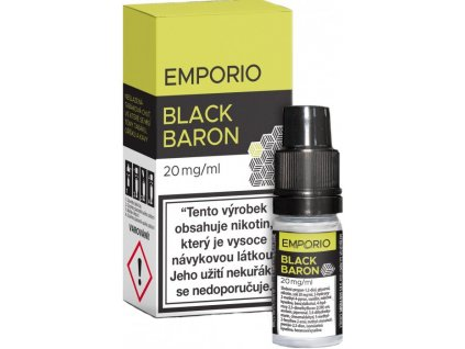Liquid Emporio SALT Black Baron 10ml - 20mg