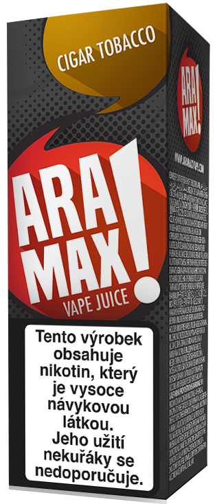 Aramax Max Cigar Tobacco 10ml Síla nikotinu: 0mg