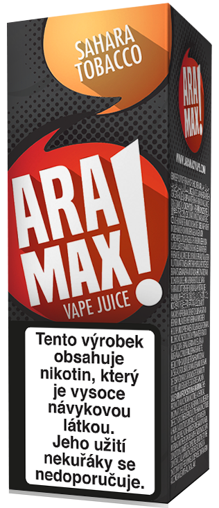 Aramax Max Sahara Tobacco 10ml Síla nikotinu: 0mg