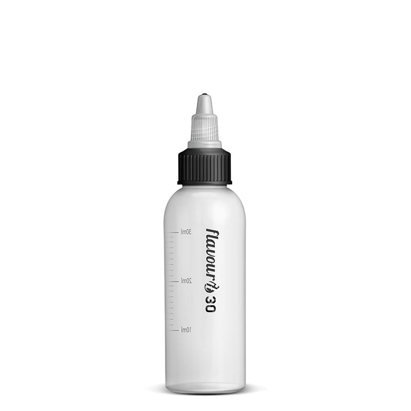 Flavourit Prázdná lahvička s twist uzávěrem a ryskou 30ml