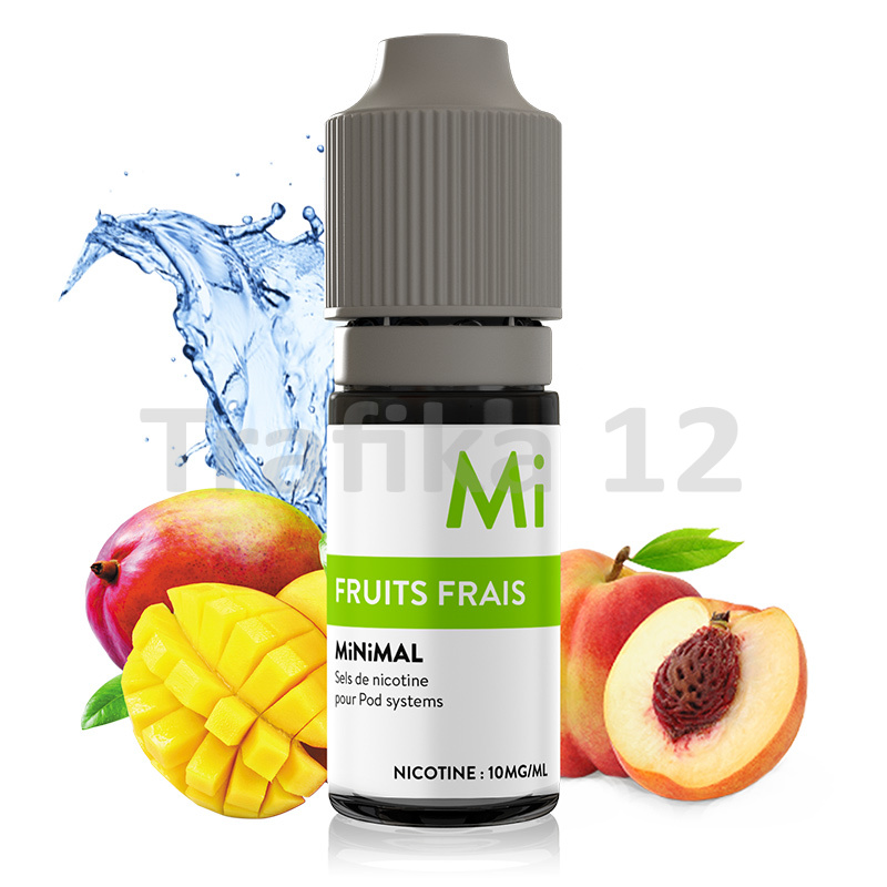 The Fuu MiNiMAL - Chladivý ovocný mix (Fruit frais) 10ml Síla nikotinu: 10mg