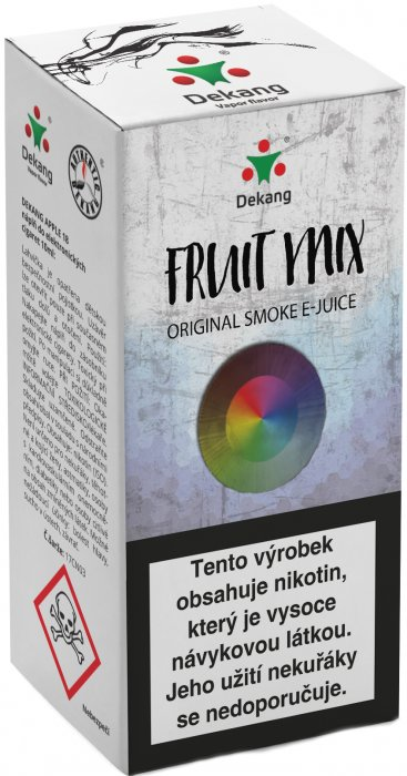 Dekang Fruit Mix (Ovocný mix) 10ml Síla nikotinu: 16mg