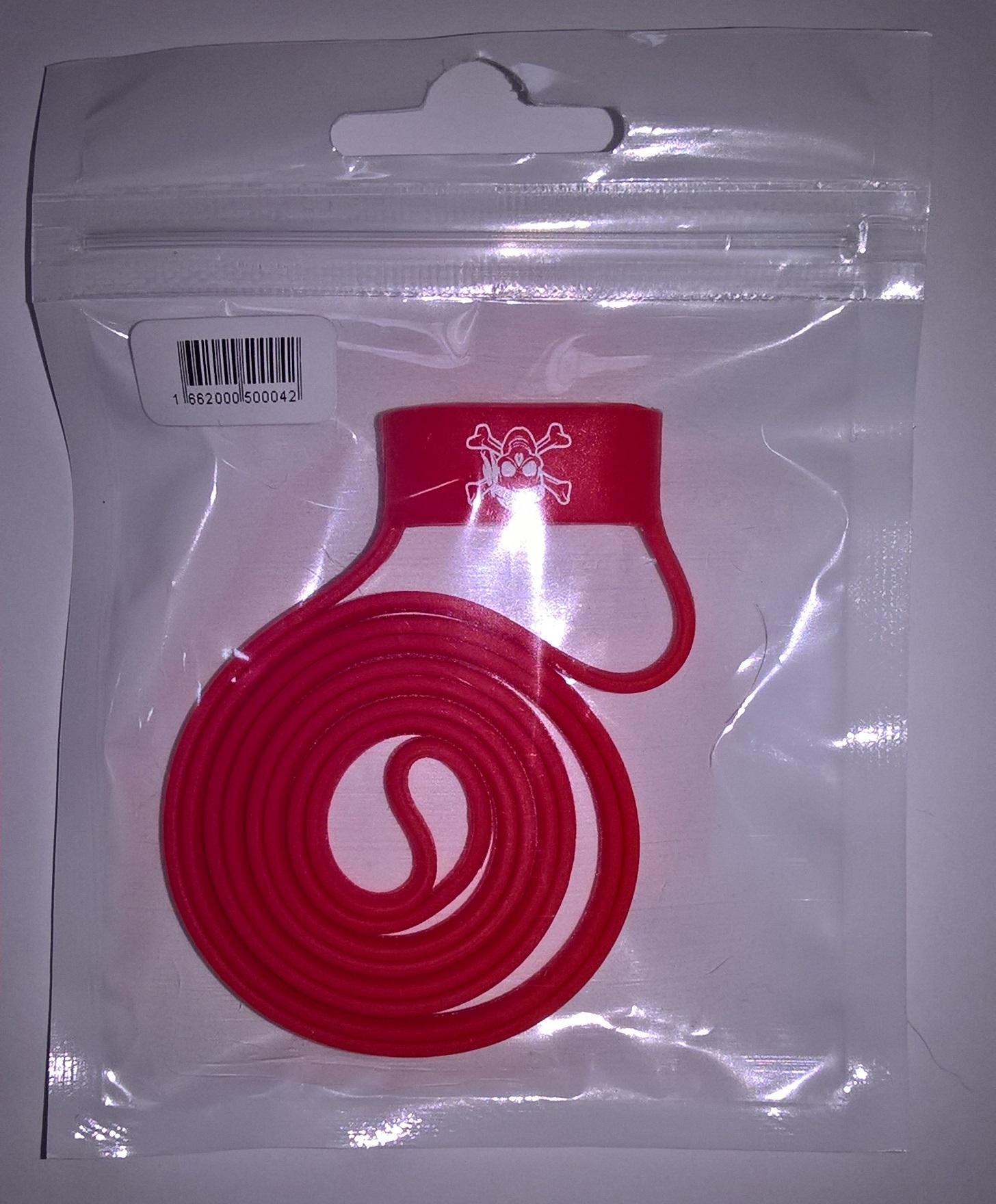 Vapesoon univerzální silikonová šňůrka na e-cigaretu 19-25mm 1ks Barva   Červená 031802a5a05