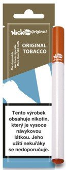 Nick One Original elektronická cigareta 16mg 210 mAh Original Tobacco 1 ks