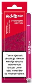 Nick One Slim elektronická cigareta Strawberry Menthol 16mg
