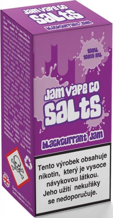 Liquid Juice Sauz SALT The Jam Vape Co Blackcurrant Jam 10ml Síla nikotinu: 10mg