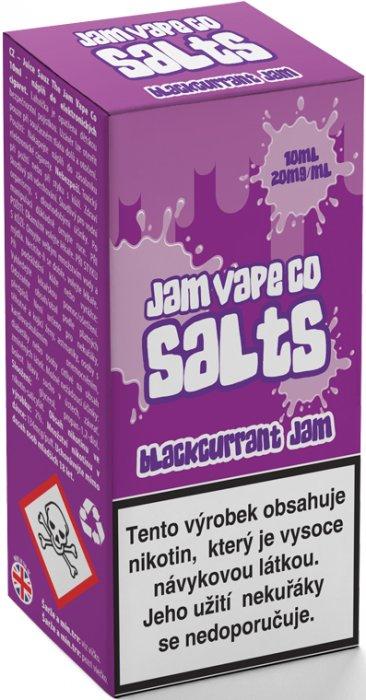 Liquid Juice Sauz SALT The Jam Vape Co Blackcurrant Jam 10ml Síla nikotinu: 20mg