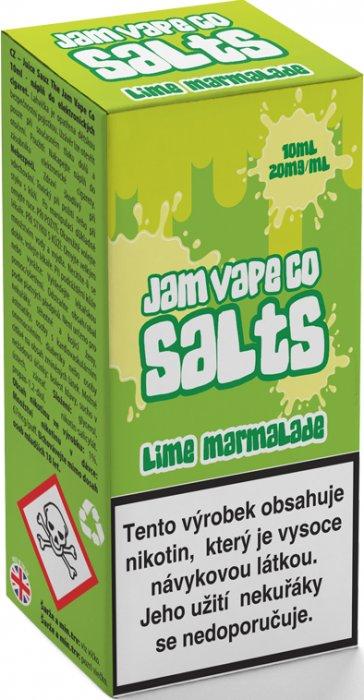 Liquid Juice Sauz SALT The Jam Vape Co Lime Marmalade 10ml Síla nikotinu: 20mg
