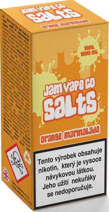 Liquid Juice Sauz SALT The Jam Vape Co Orange Marmalade 10ml Síla nikotinu: 10mg