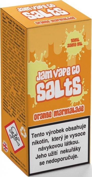 Liquid Juice Sauz SALT The Jam Vape Co Orange Marmalade 10ml Síla nikotinu: 20mg