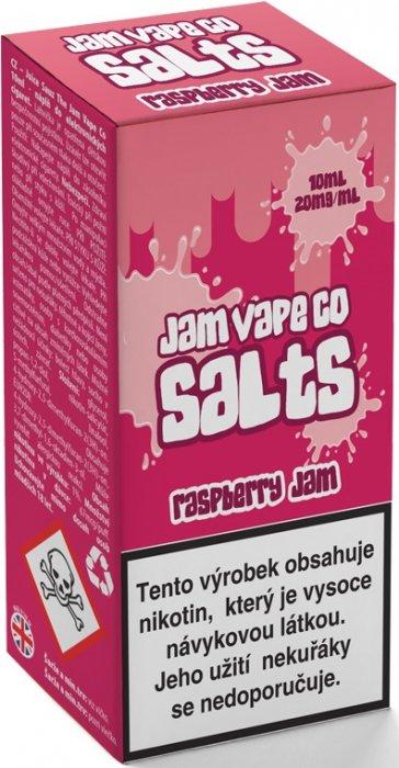 Liquid Juice Sauz SALT The Jam Vape Co Raspberry Jam 10ml Síla nikotinu: 20mg